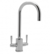 Rohl Faucets<br />U.4209LS - ROHL CONTEMPORARY SINGLE HOLE BAR FAUCET WITH SQUARE BODY AND &quot;C&quot; SPOUT U.4209LS