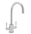 Rohl Faucets<br />U.4213LS - CONTEMPORARY SINGLE HOLE BAR FAUCET WITH ROUND BODY AND &quot;C&quot; SPOUT U.4213LS
