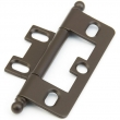 Schaub<br />1100B-10B - Solid Brass, Hinge, Ball Tip Non-Mortise, Oil Rubbed Bronze finish