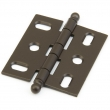 Schaub<br />1111B-10B - Solid Brass, Hinge, Ball Tip Mortise, Oil Rubbed Bronze finish
