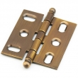 Schaub<br />1111B-AB - Solid Brass, Hinge, Ball Tip Mortise, Antique Brass finish