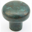Schaub<br />772-VI - Cast Bronze, Mountain, Round Knob, 1-3/8&quot; diameter, Verde Imperiale finish