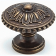 Schaub<br />930-DAB - Solid Brass, Symphony, Concerto, Round Knob, 1-1/4&quot; diameter, Dark Antique Bronze finish