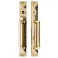 "Mack Entry Sliding Door Sets - 1 3/4"" X 13"" - American Cylinder"