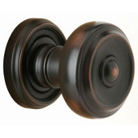 Small Brass Knob Passage Sets