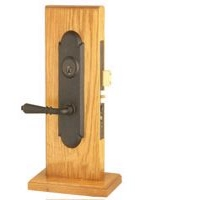 Emtek Wrought Steel Mortise Knob/Lever