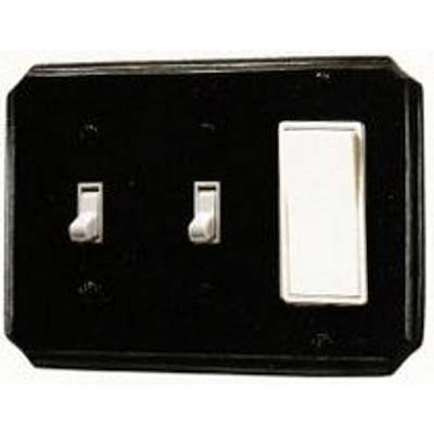 SOLID BRONZE SWITCH PLATES<BR>ASHLEY NORTON