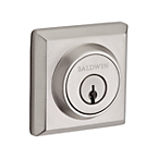 Contemporary Square Deadbolt<br>$40