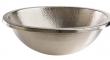 Thompson Traders - sinks<br />23-1220-B - OVAL MANET SINK BRUSHED SATIN NICKEL