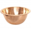 Thompson Traders - sinks<br /> 23-1223-E - ROUND MIRO SINK - POLISHED COPPER