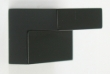 Top Knobs<br />M1165 - Square Knob 10/16&quot; CC in Flat Black