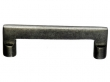 Top Knobs<br />M1360 - Aspen Flat Sided Pull 4&quot; (c-c) - Silicon Bronze Light