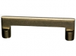 Top Knobs<br />M1361 - Aspen Flat Sided Pull 4&quot; (c-c) - Light Bronze