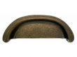 Top Knobs<br />M1411 - Aspen Cup Pull 3&quot; (c-c) - Light Bronze