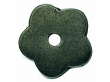 Top Knobs<br />M1425 - Aspen Flower Plate 1&quot; - Silicon Bronze Light