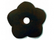 Top Knobs<br />M1428 - Aspen Flower Plate 1&quot; - Mahogany Bronze