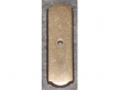 Top Knobs<br />M1431 - Aspen Rectangle Backplate 2 1/2&quot; - Light Bronze