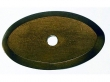 Top Knobs<br />M1436 - Aspen Oval Backplate 1 1/2&quot; - Light Bronze