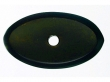 Top Knobs<br />M1437 - Aspen Oval Backplate 1 1/2&quot; - Medium Bronze