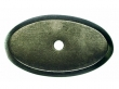 Top Knobs<br />M1440 - Aspen Oval Backplate 1 3/4&quot; - Silicon Bronze Light