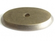 Top Knobs<br />M1441 - Aspen Oval Backplate 1 3/4&quot; - Light Bronze