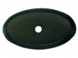 Top Knobs<br />M1442 - Aspen Oval Backplate 1 3/4&quot; - Medium Bronze