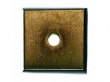 Top Knobs<br />M1446 - Aspen Square Backplate 7/8&quot; - Light Bronze