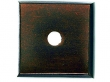 Top Knobs<br />M1448 - Aspen Square Backplate 7/8&quot; - Mahogany Bronze