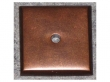 Top Knobs<br />M1453 - Aspen Square Backplate 1 1/4&quot; - Mahogany Bronze