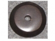 Top Knobs<br />M1457 - Aspen Round Backplate 7/8&quot; Medium Bronze