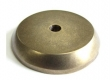 Top Knobs<br />M1461 - Aspen Round Backplate 1 1/4&quot; Light Bronze