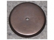 Top Knobs<br />M1462 - Aspen Round Backplate 1 1/4&quot; Medium Bronze