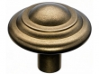 Top Knobs<br />M1476 - Aspen Button Knob 1 3/4&quot; - Light Bronze