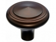 Top Knobs<br />M1493 - Aspen Peak Knob 1 5/8&quot; - Mahogany Bronze