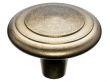 Top Knobs<br />M1496 - Aspen Peak Knob 2&quot; - Light Bronze