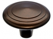 Top Knobs<br />M1498 - Aspen Peak Knob 2&quot; - Mahogany Bronze