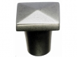 Top Knobs<br />M1505 - Aspen Square Knob 3/4&quot; - Silicon Bronze Light