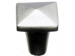 Top Knobs<br />M1510 - Aspen Square Knob 7/8&quot; - Silicon Bronze Light