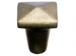 Top Knobs<br />M1511 - Aspen Square Knob 7/8&quot; - Light Bronze