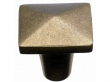 Top Knobs<br />M1516 - Aspen Square Knob 1 1/2&quot; - Light Bronze
