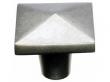 Top Knobs<br />M1520 - Aspen Square Knob 1 3/4&quot; - Silicon Bronze Light