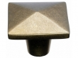 Top Knobs<br />M1521 - Aspen Square Knob 1 3/4&quot; - Light Bronze