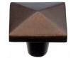 Top Knobs<br />M1523 - Aspen Square Knob 1 3/4&quot; - Mahogany Bronze