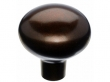 Top Knobs<br />M1533 - Aspen Large Egg Knob 1 7/16&quot; - Mahogany Bronze