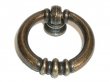 Top Knobs<br />M175 - Newton ring pull knobs 1 1/2&quot; in German Bronze