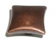 Top Knobs<br />M256 - Square knob 1 3/8&quot; in Old English Copper