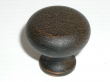 Top Knobs<br />M277 - Flat faced round knob 1 1/4&quot; in Rust