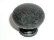 Top Knobs<br />M283 - Round knob 1 1/4&quot; in Black Iron