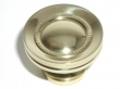 Top Knobs<br />M290 - Button faced knob 1 1/4&quot; in Polished Brass