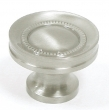 Top Knobs<br />M292 - Button faced knob 1 1/4&quot; in Brushed Satin Nickel